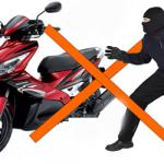 Cảnh báo mất trộm xe máy
