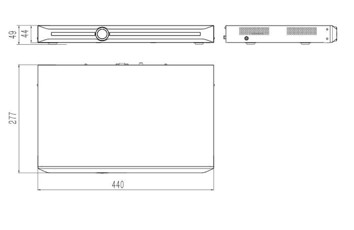 NVR  TC-R3220 PoE